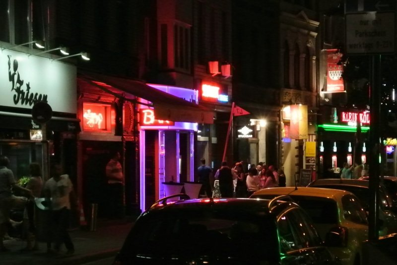 Nightlife at Friesenviertel